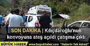 Kılıçdaroğlu'nun konvoyu Artvin'de çatışmanın...