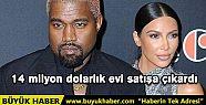 Kim Kardashian ve Kanye West 14 milyon dolarlık...