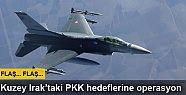 Kuzey Irak'taki PKK hedeflerine hava operasyonu
