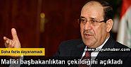 Maliki başbakanlıktan çekildiğini açıkladı
