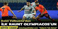 Medipol Başakşehir, ilk maçta tek golle...