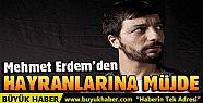 Mehmet Erdem'den yeni albüm müjdesi