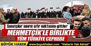 Mehmetçiğin yanında cephedeyiz