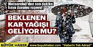 Meteoroloji'den son dakika hava durum! İstanbul'da...