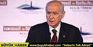 MHP Lideri Bahçeli: Demokrasi milliyetçiliğin...