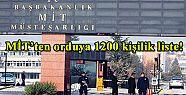MİT'ten orduya 1200 kişilik liste!