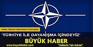NATO'dan 'Türkiye' açıklaması