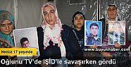 Oğlunu TV'de IŞİD'le savaşırken...