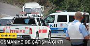 Osmaniye'de polise silahlı saldırı