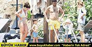 Pelin Karahan ve ailesi sezonu Bodrum'da...