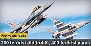 PKK'ya ağır darbe! 260 terörist öldürüldü,...