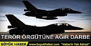 Savaş uçakları bir kez daha PKK hedeflerini...
