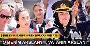 Şehit Binbaşı Kulaksız'ı eşi asker...