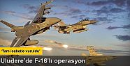 Şırnak'ta F-16 ile operasyon düzenlendi