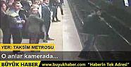 Taksim Metro İstasyonu'ndaki intihar girişimi...