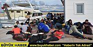 Tansu Çiller'in eski yatından 134 göçmen...