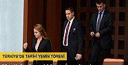 TBMM'de Erdoğan'ın yemin töreni heyecanı