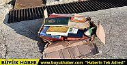 Tekirdağ'da denize atılan dini kitaplar...