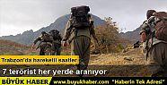 Trabzon'da, silah zoruyla yiyecek alan PKK'lı...