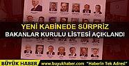 Türkiye Cumhuriyeti'nin 65.hükümeti belli...