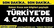 Türkiye'de koronadan can kaybı sayısı...