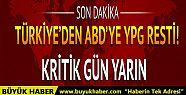 Türkiye'den ABD'ye YPG resti