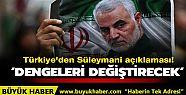 Türkiye'den Süleymani açıklaması! 'Bölgede...
