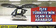 Türkiye'nin ilk uçan arabası Cezeri ilk...