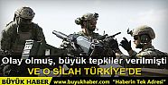 YPG armalı ABD askerlerinde görülen silah...