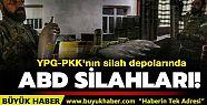 YPG-PKK'nın silah depolarında ABD'nin...