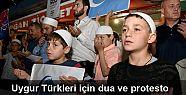 Yurt genelinde Uygur Türkleri için dua...
