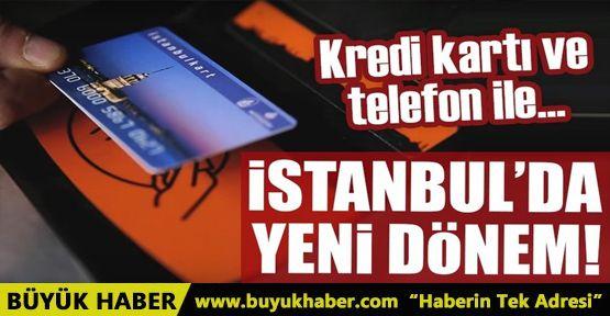 Toplu taşımada İstanbul için yeni dönem