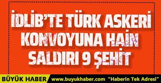 Türk askeri birliğine hain saldırı 9 şehit
