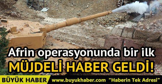 Türk tankları ilk kez Burseya Dağı'nda