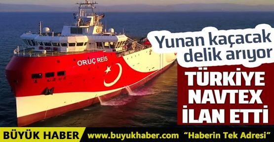 Türkiye NAVTEX ilan etti! Yunanistan korktu