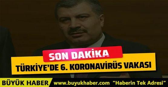 Türkiye'de bir koronavirüs vakası daha!