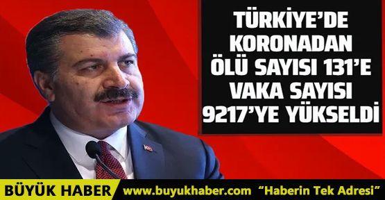 Türkiye'de koronadan hayatını kaybedenlerin sayısı 131'e yükseldi