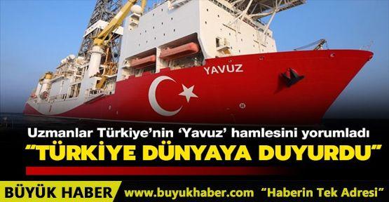 Türkiye'nin 'Yavuz' hamlesi