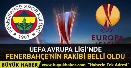 UEFA Avrupa Ligi'nde Fenerbahçe'nin rakibi Vardar