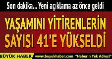 Atatürk Havalimanı'ndaki saldırıda ölü sayısı 41 oldu