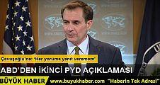 ABD: 'PYD politikamızda hiçbir değişiklik yok'