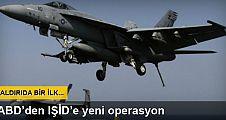 ABD ilk kez Bağdat yakınlarını bombaladı