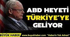 ABD heyeti Pazartesi günü Türkiye'ye geliyor