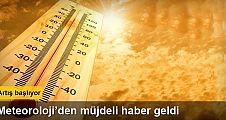 Hava sıcaklıkları 8 ila 12 derece arasında artacak