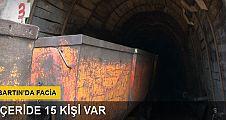 Özel maden ocağında göçük