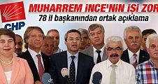 CHP 78 il başkanı Kılıçdaroğlu'nu destekliyor