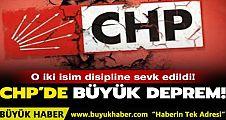 CHP üyesi Ümit Kocasakal ve Mehmet Sevigen disipline sevk edildi