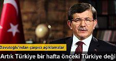 Başbakan Ahmet Davutoğlu canlı yayında konuştu