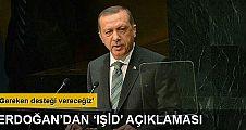 Erdoğan'dan IŞİD operasyonuyla ilgili flaş açıklama