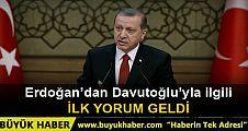 Cumhurbaşkanı Erdoğan'dan Ahmet Davutoğlu'yla ilgili adaylık açıklaması